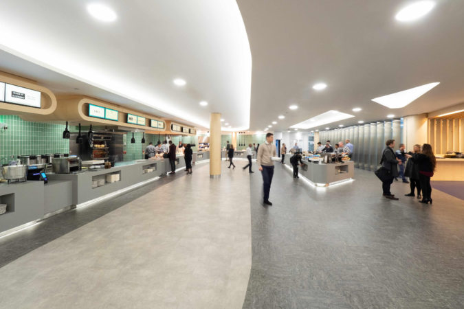 New Dining Facility for International Banking Institution